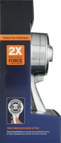 Waterpik® Twin PowerPulse Shower Head Perspective: left