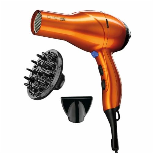 Infiniti Pro Quick Styling Salon Hair Dryer Perspective: left