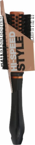 Conair Quick Blow-Dry Round Boar Brush - Copper Perspective: left