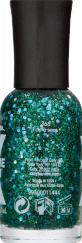 Sally Hansen Xtreme Wear 366 Fanta-Seas Nail Color Perspective: left