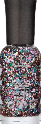 Sally Hansen Xtreme Wear 423 Confetti Craze Nail Color Perspective: left