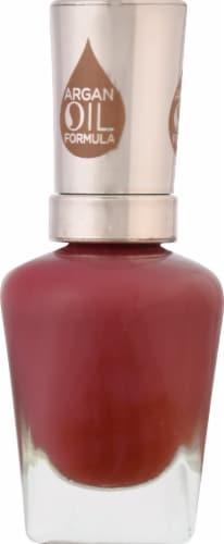 Sally Hansen Color Therapy 199 La Vie En Rose Nail Color Perspective: left