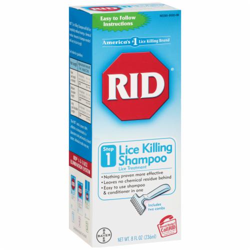 RID Lice Killing Shampoo Perspective: left