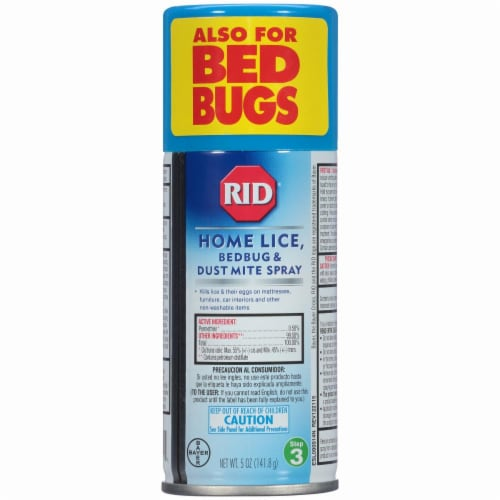 RID Home Lice Bedbug & Dust Mite Aerosol Spray Perspective: left