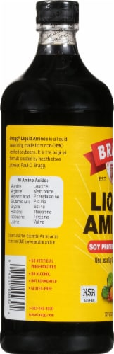 Bragg Seasoning Liquid Aminos Perspective: left