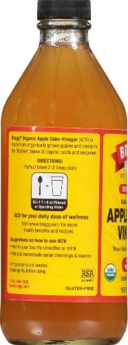 Bragg Organic Apple Cider Vinegar Perspective: left
