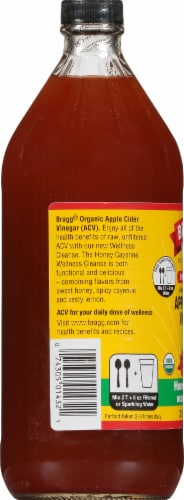 Bragg Apple Cider Vinegar Concentrate Miracle Cleanse Perspective: left