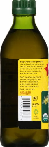 Bragg Organic Extra Virgin Olive Oil Perspective: left