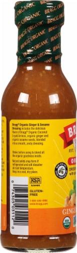 Bragg All Natural Ginger & Sesame Salad Dressing Perspective: left
