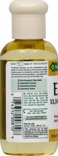Nature's Bounty Vitamin E Oil Perspective: left