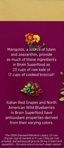 Nature's Bounty Brain Superfood Perspective: left