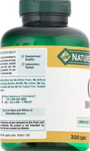 Nature's Bounty® Immune Health Vitamin C Supplement Caplets Perspective: left