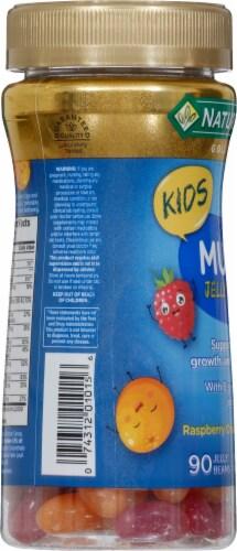 Nature's Bounty® Kid's Multi Raspberry Orange Twist Jelly Beans Perspective: left