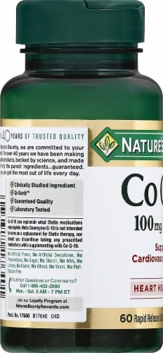 Nature's Bounty Co Q-10 Softgels 100mg Perspective: left