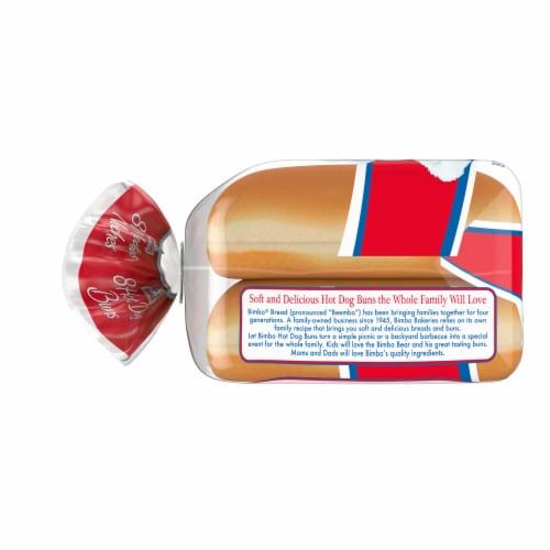 Bimbo Hot Dog Buns 8 Count Perspective: left