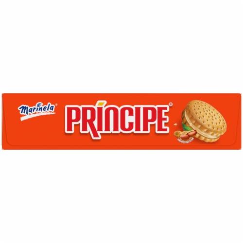 Marinela Principe Peanut Butter Sandwich Cookies Perspective: left