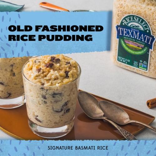 RiceSelect Texmati Long Grain Basmati Rice Jar Perspective: left