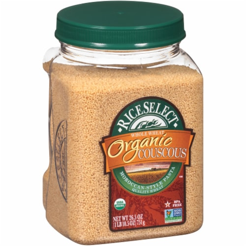 RiceSelect Organic Whole Wheat Couscous Perspective: left