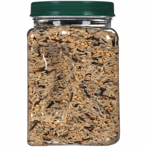 RiceSelect Royal Blend Whole Grain Rice Jar Perspective: left