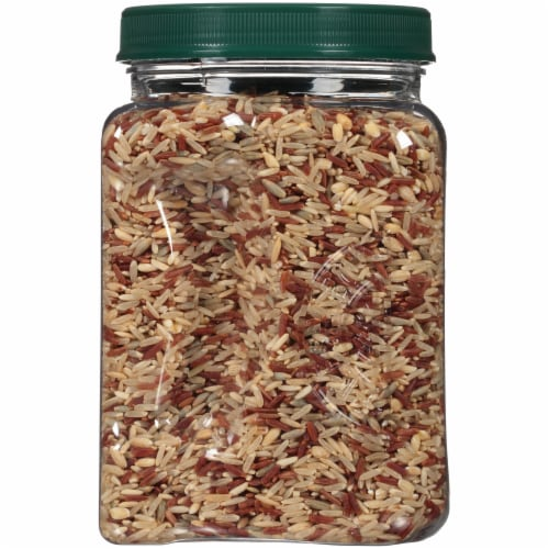 RiceSelect Royal Blend Brown & Red Whole Grain Rice Perspective: left