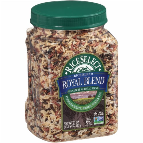 RiceSelect Royal Blend Texmati White Brown Wild & Red Rice Perspective: left
