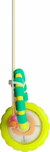 Bright Starts Grab & Spin Rattle Toy Perspective: left