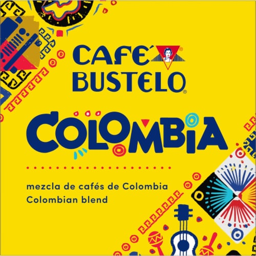 Cafe Bustelo Colombian Coffee K-Cup Pods Perspective: left