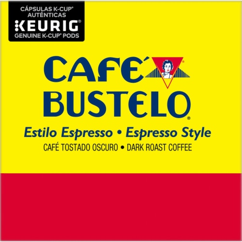 Cafe Bustelo® Espresso Style Coffee K-Cup Pods Perspective: left