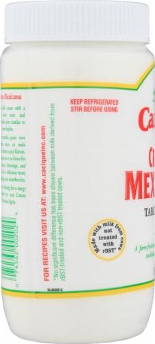 Cacique Crema Mexicana Perspective: left
