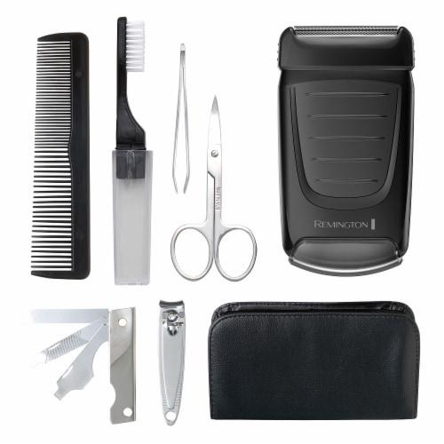 Remington Weekender Men's Travel Shaving Kit Perspective: left