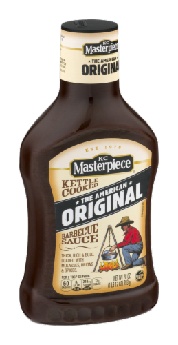 KC Masterpiece Original BBQ Sauce Perspective: left