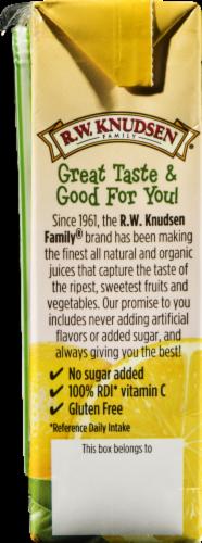 R.W. Knudsen Organic Lemonade Juice Box Perspective: left