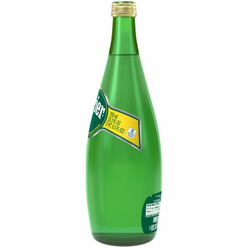 Perrier Natural Sparkling Mineral Water Perspective: left