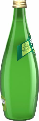 Perrier Sparkling Natural Mineral Water Lime Perspective: left