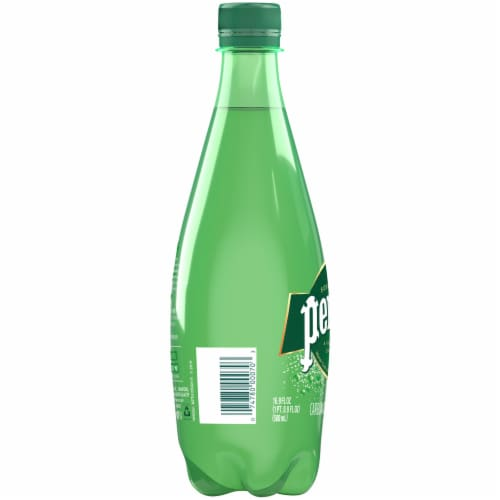 Perrier Carbonated Mineral Water Perspective: left