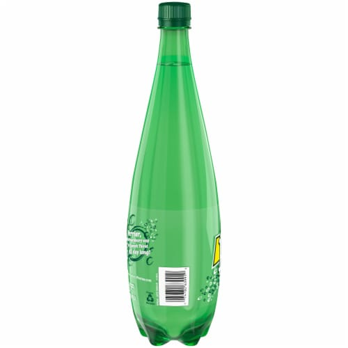 Perrier Sparkling Natural Mineral Water Perspective: left