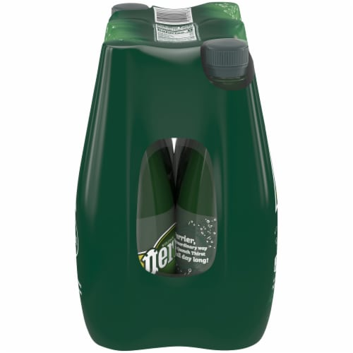 Perrier Sparkling Natural Mineral Water 6 Count Perspective: left