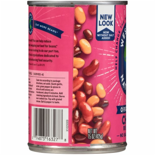 Westbrae Natural Organic Chili Beans Perspective: left