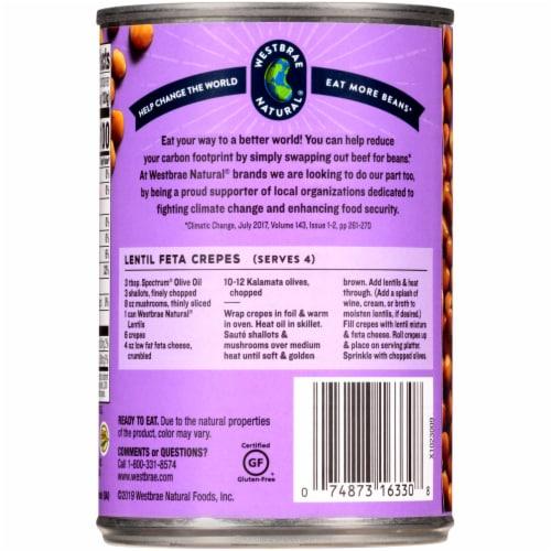 Westbrae Natural Organic Lentil Beans Perspective: left