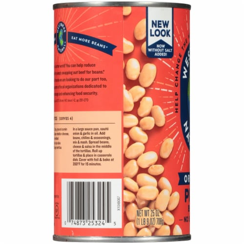 Westbrae Natural Organic Pinto Beans Perspective: left