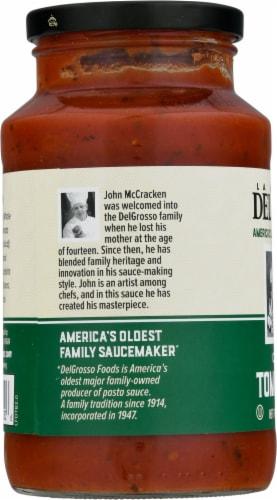 La Famiglia DelGrosso™ Chef John's Tomato Basil Masterpiece Pasta Sauce Perspective: left