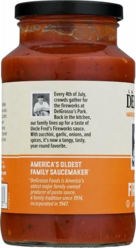 La Famiglia DelGrosso™ Uncle Fred's Fireworks Pasta Sauce Perspective: left