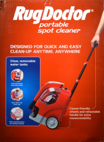 Rug Doctor Portable Spot Cleaner - Red Perspective: left