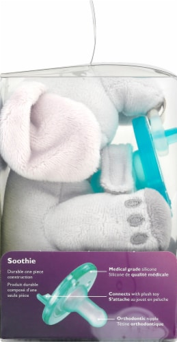 Philips Avent Soothie Snuggle Elephant Plush Perspective: left