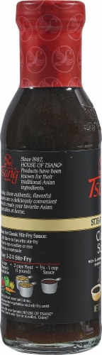 House of Tsang Classic Stir-Fry Sauce Perspective: left
