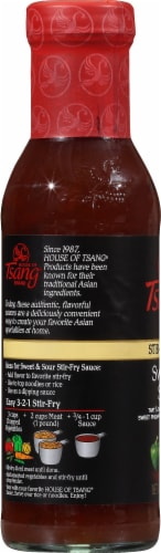 House of Tsang Sweet & Sour Stir-Fry Sauce Perspective: left