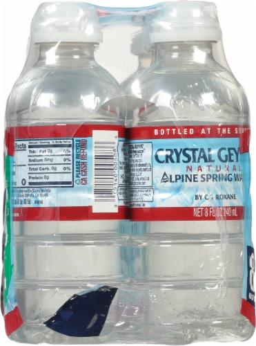 Crystal Geyser Natural Alpine Spring Water Perspective: left
