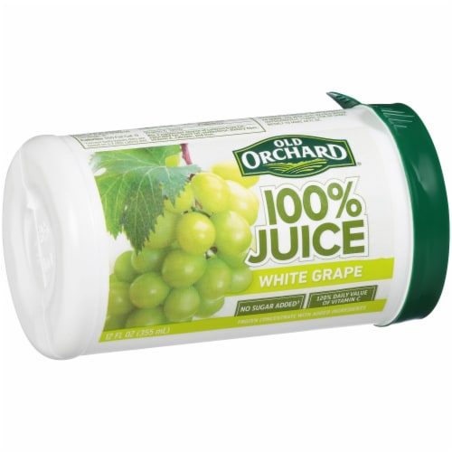 Old Orchard 100% White Grape Juice Perspective: left