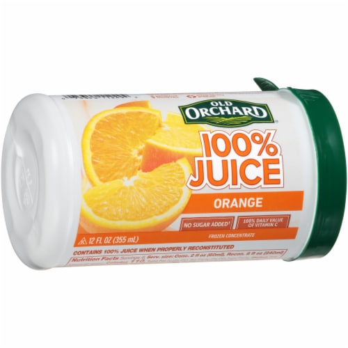 Old Orchard Orange Juice Concentrate Perspective: left