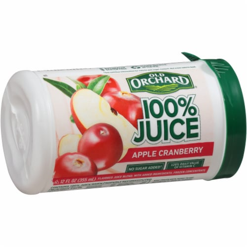 Old Orchard Apple Cranberry Juice Concentrate Perspective: left